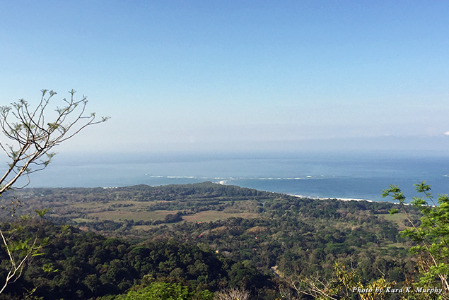 View from our villa at Kura