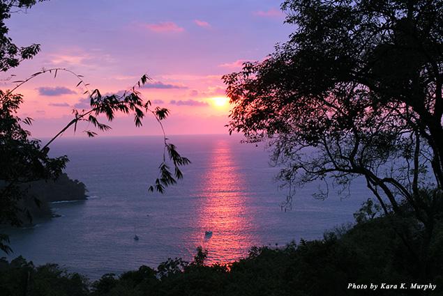 Sunset at Mango Moon