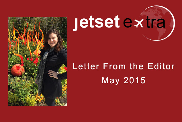 Letter From the Editor: May 2015