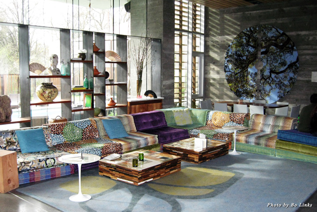 Eco-chic décor at the h2hotel