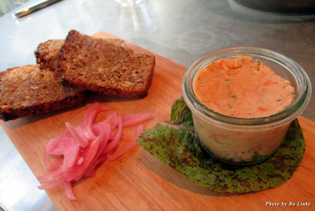 SHED's luscious smoked trout