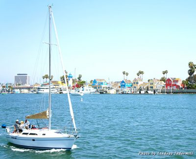 Half of Marina del Rey's 800 acres are underwater; make a splash and explore them by boat or board