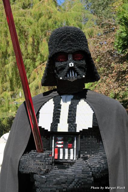 Lego Darth Vader at Legoland California
