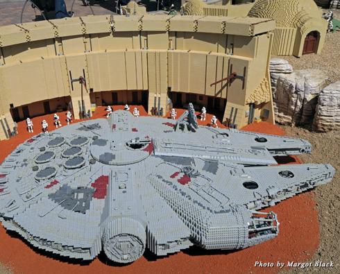 Legoland's Millennium Falcon