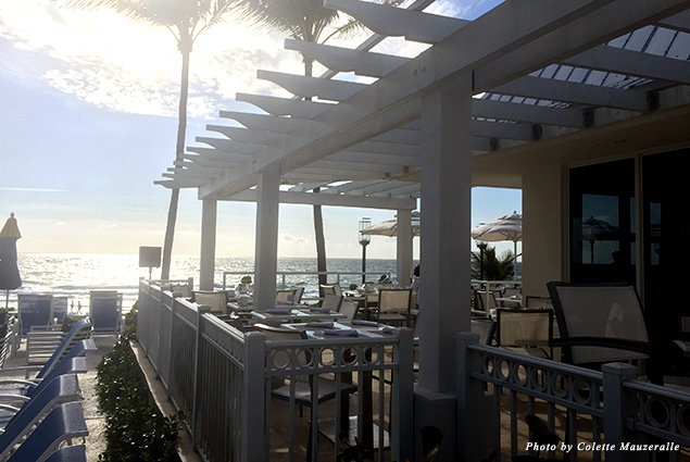 After a good night's rest, wake up to breakfast by the beach at the Delray Sands Resort's oceanfront restaurant Latitudes
