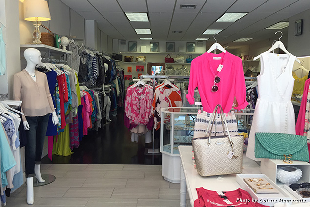 Boutique shopping in Florida is all about sundresses and brightly colored tops
