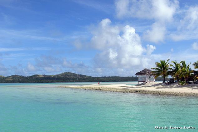 Paradise-like Aitutaki Lagoon in the Cook Islands