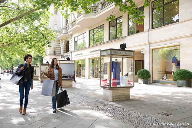 Shopping at Kurfürstendamm