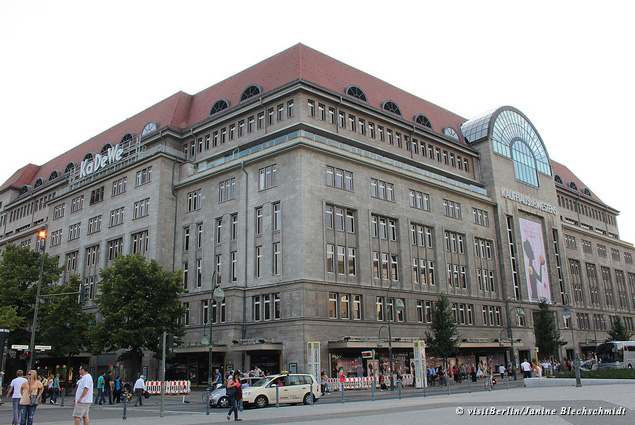 Exterior of the Kaufhaus des Westens department store