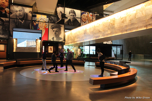 Exhibit at the Canadian Museum for Human Rights