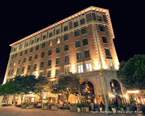 Exterior of the Culver Hotel in Culver City