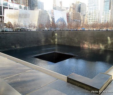 911 Memorial Museum and reflecting pool