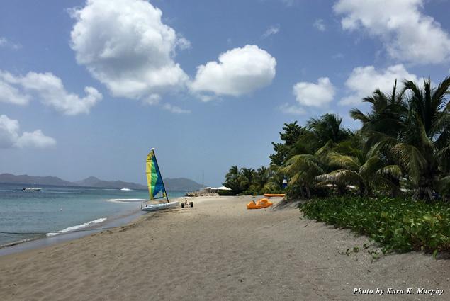 Nevis Island Beach