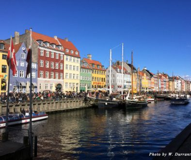 The view from Nyhavn