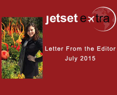 Letter From the Editor: July 2015
