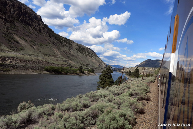 """The Rocky Mountaineer's """"First Passage to the West"""" route travels from Vancouver to Banff"""