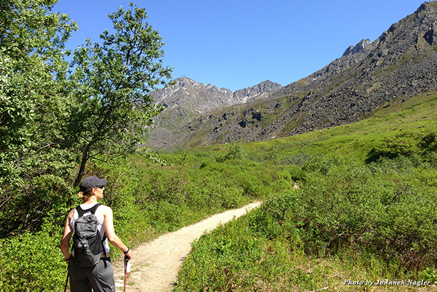 Hiking Hatcher Pass