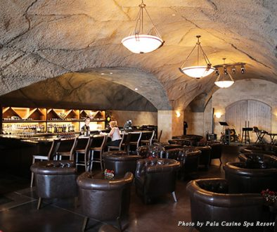Pala Casino Spa & Resort has the only Wine Cave in San Diego County