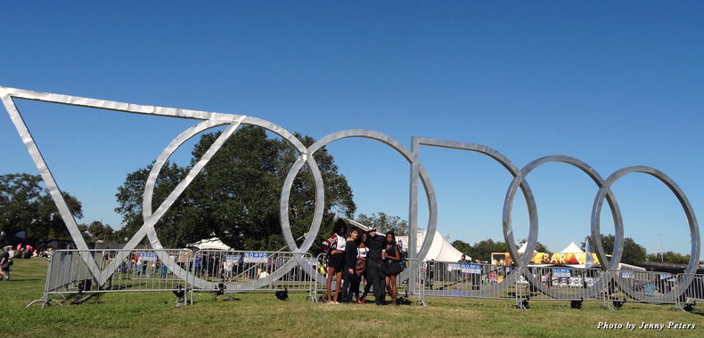 The Voodoo Music + Arts Festival happens every year on Halloween weekend in New Orleans