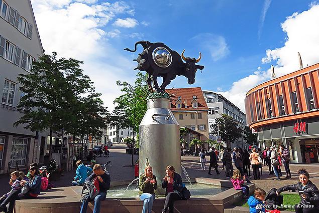 Contemporary sculpture in Bietigheim-Bissingen