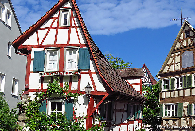 The House on the Wall in Schorndorf