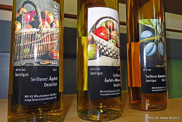 Schnapps distillery in Blaubeuren