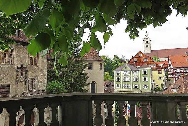 A view of Meersburg Castle
