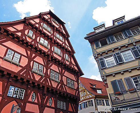 The oldest timber-frame house in Esslingen