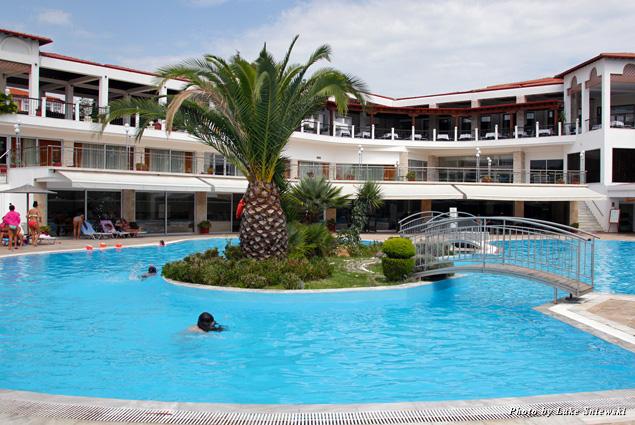 Pool at Alexandros Palace Hotel