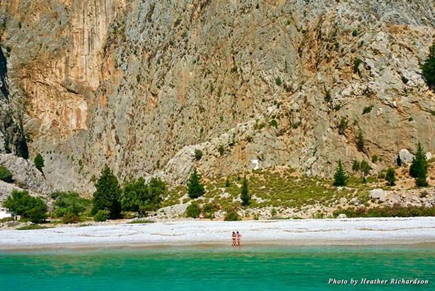 Kayadibi Beach in Greece