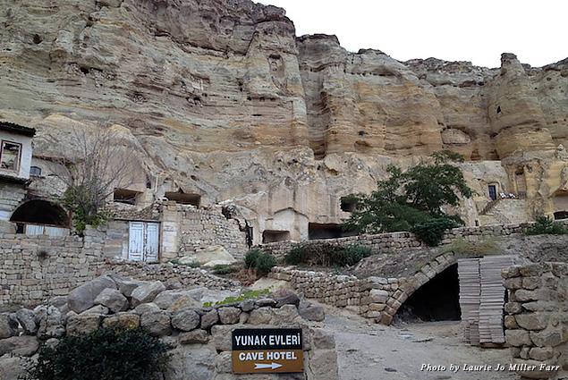 Sleep in a rock in a Cappadocia cave hotel