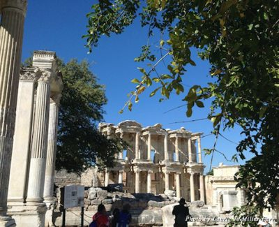 Ruins of Ephesus, the Mediterranean's best preserved Greco-Roman site