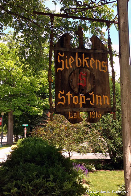 Signage for Stop-Inn Tavern
