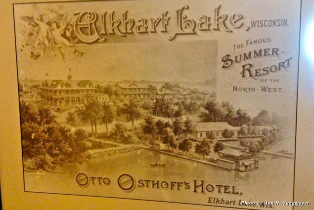 Old print of the Osthoff Resort and Aspira Spa