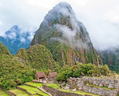 Machu Picchu just after the rain