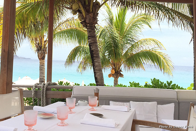Lunch at Cheval Blanc St-Barth Isle de France