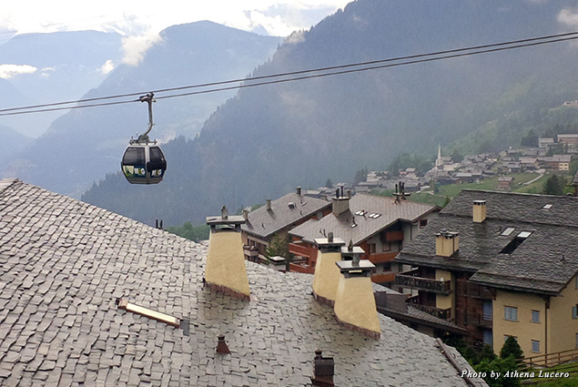 Guest rooms at W Verbier have spacious outdoor balconies with views overlooking the valley