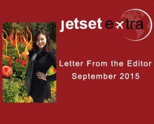 Letter From the Editor: September 2015
