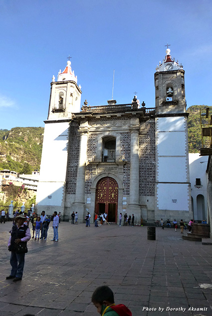 Plaza in front of the church