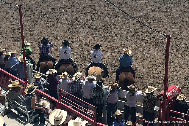 From roping to bareback riding, there are a number of time competitions during Cheyenne Frontier Days