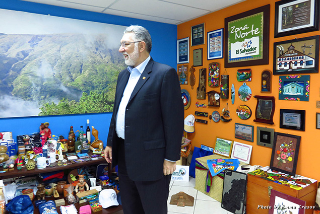 Minister of tourism of El Salvador, José Napoleón Duarte Durán