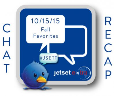 #JSETT Twitter Chat Recap: Fall Favorites