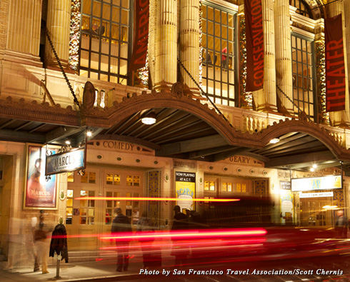 Exterior of the American Conservatory Theater