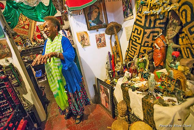 Voodoo Spiritual Temple Priestess Miriam