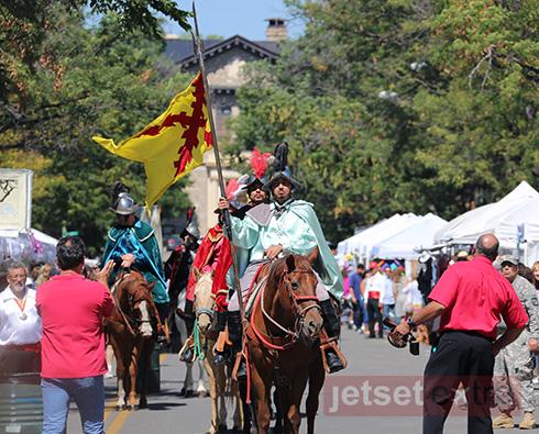 Entrada de Don Diego de Vargas at the Santa Fe Fiestas