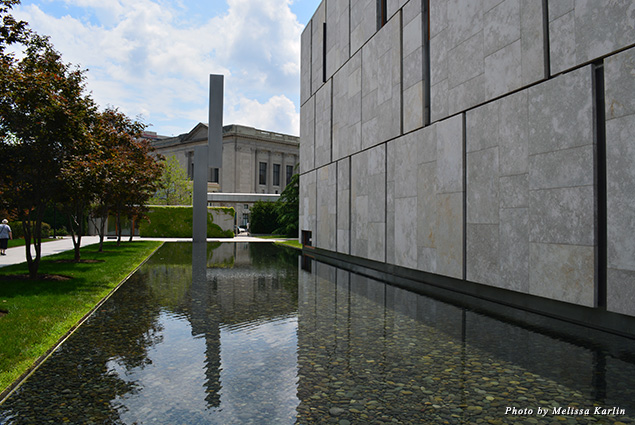 Exterior of the Barnes Foundation