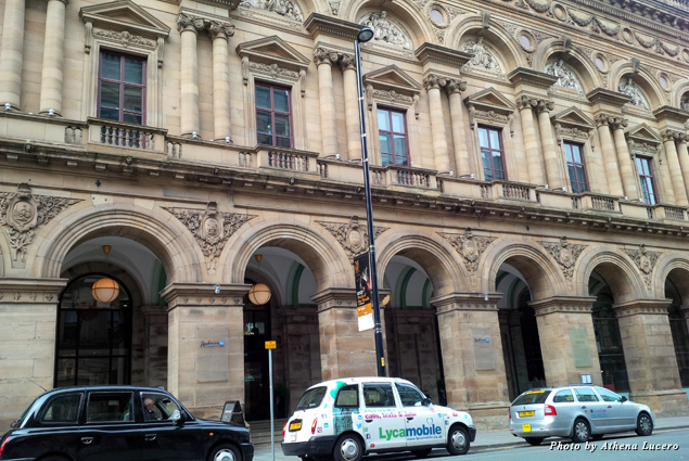 The historic Free Trade Hall built in 1853 is today home to the Radisson Blu Edwardian Hotel