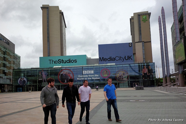 MediaCityUK, built along the Manchester Ship Canal at Salford Quays, is also home of BBC North and ITV