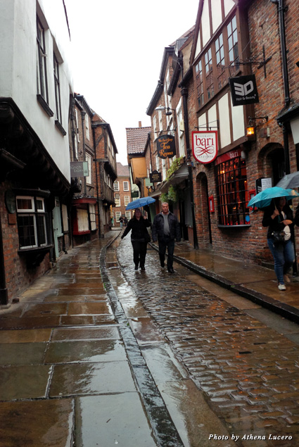 """The Shambles"" is the best preserved medieval street in the world once lined with butcher shops and slaughterhouses"