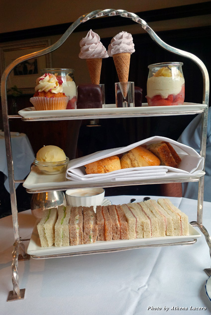 Afternoon tea at the Grand Hotel & Spa in York is a royal experience